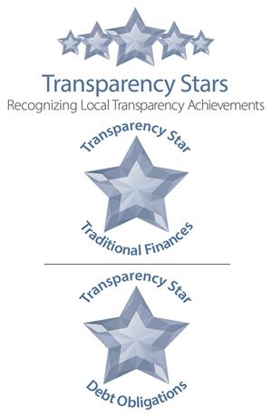 State of Texas Comptroller Office transparency stars logo